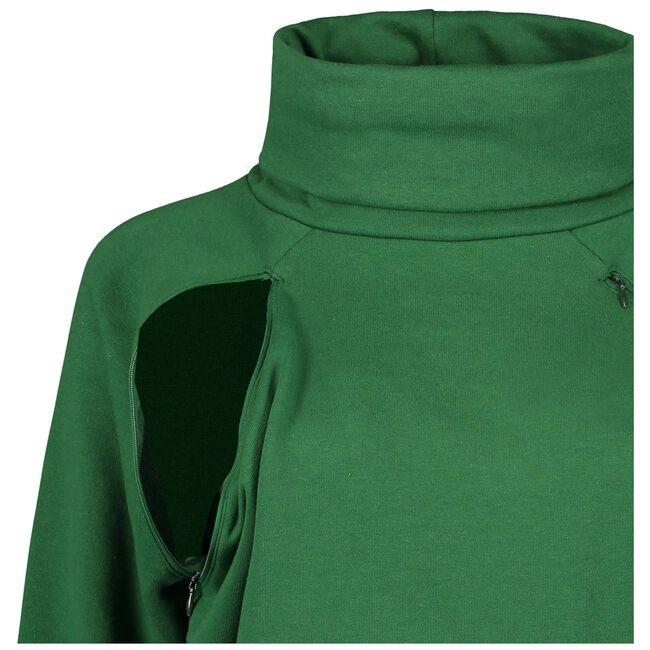 Prenatal voedings sweater - Leaf Gree