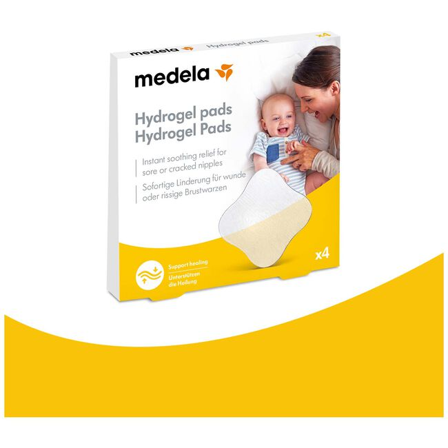 Medela hydrogel pads 4 stuks - Geen Kleurcode