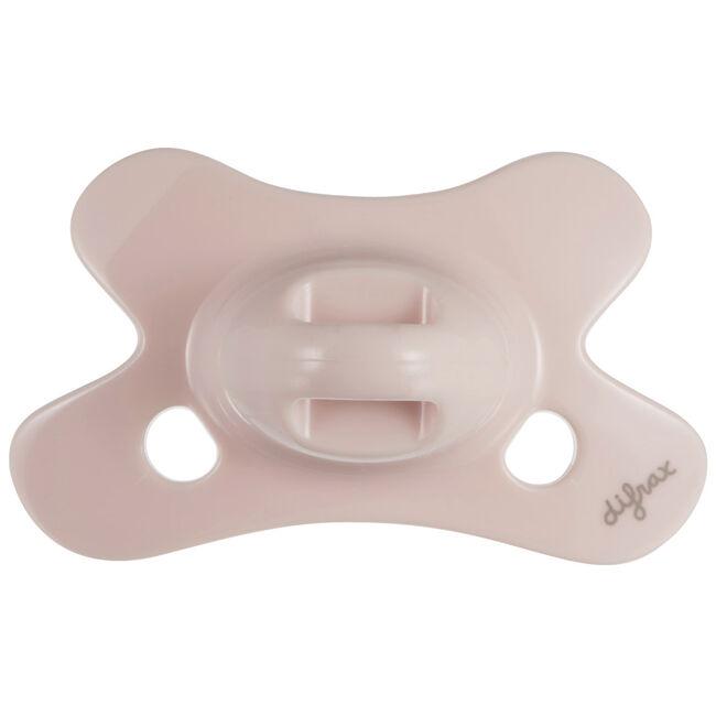 Difrax 0-6mnd fopspeen Pure - Pink