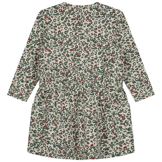 Prénatal peuter meisjes jurk - Soft Brown Melange