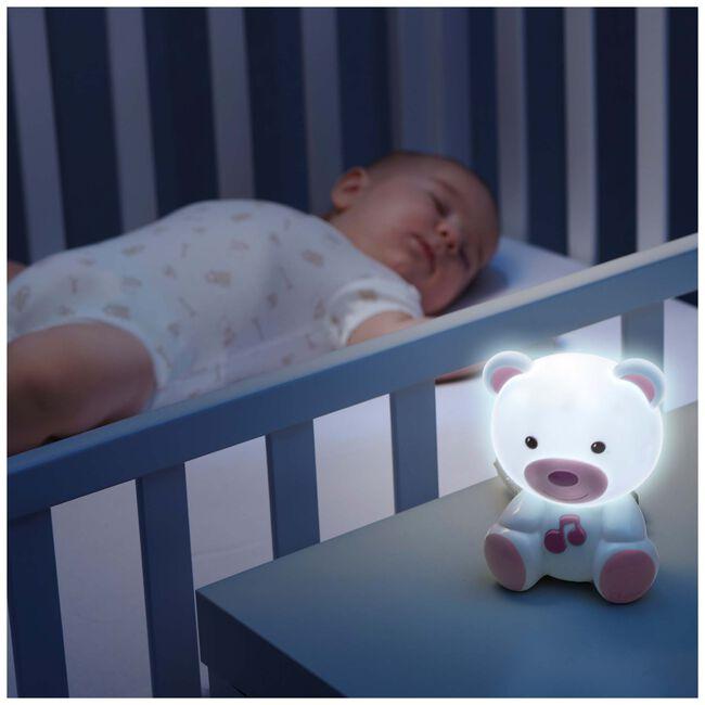 Chicco nachtlampje beer - Pink