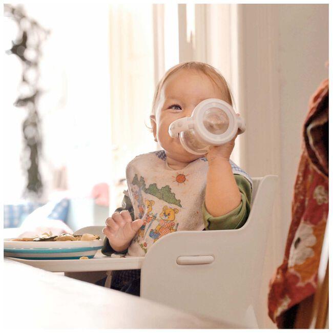 Nuk handvatfles 6-18 maanden 150ml - White