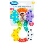 Playgro Click Twist Rattle rammelaar - Multi