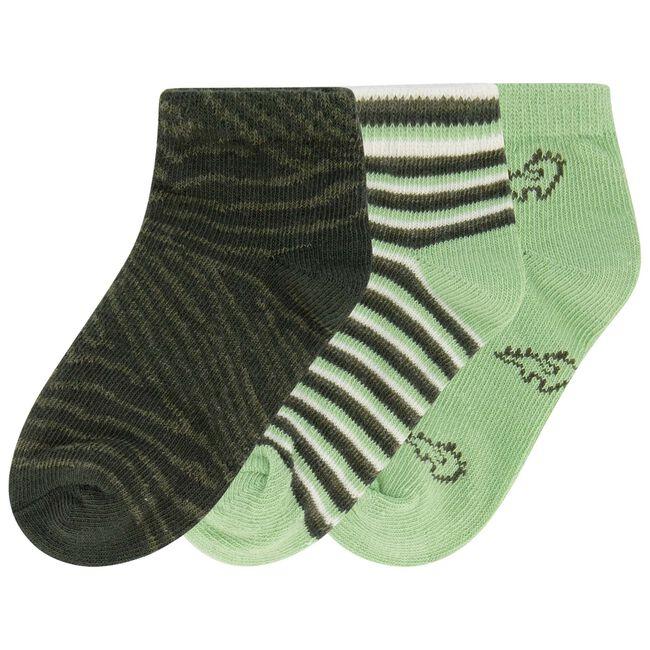 Prénatal jongens enkelsokken - Darkgreen