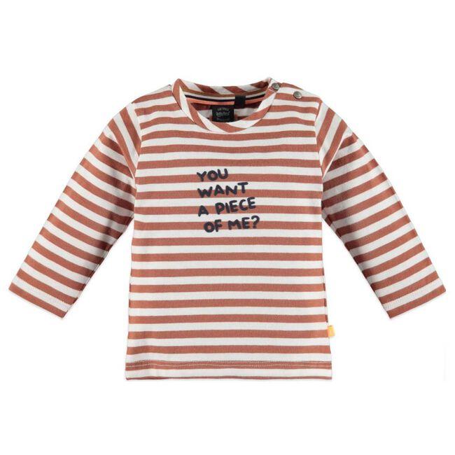 Babyface jongens t-shirt - Brown/red