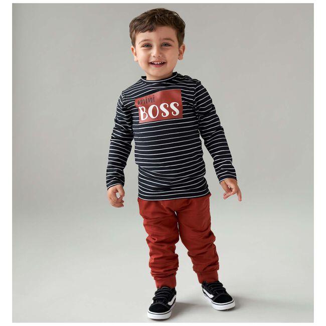 Prénatal peuter shirt Mini boss -