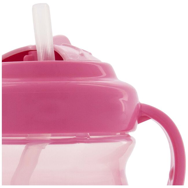 Prénatal antilekbeker met rietje - Pink