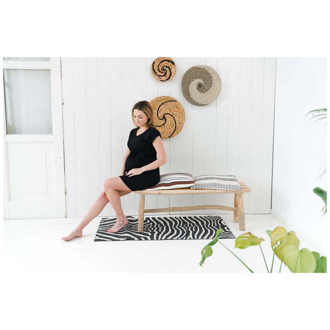 Prénatal zwangerschapsjurk - Black