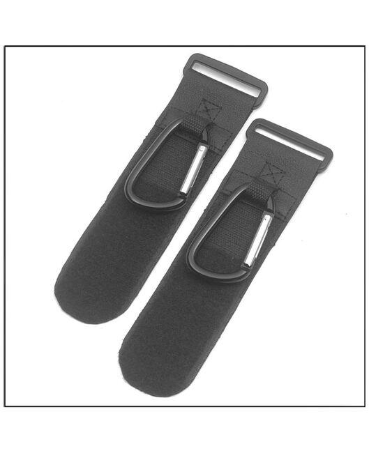 A3 luxe tassenhaken 2 stuks - Black