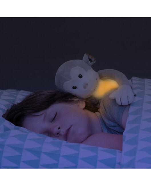 ZAZU nachtlamp knuffel Max - Grey