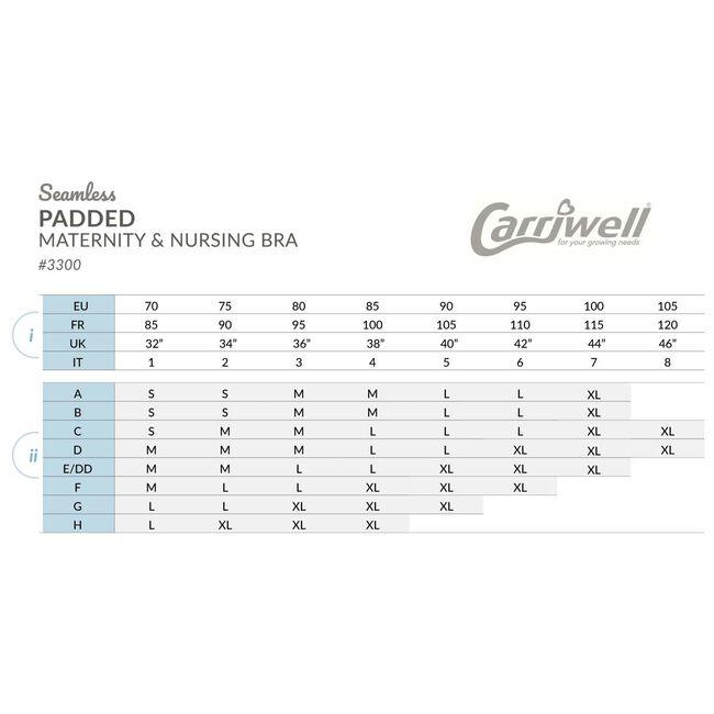 Carriwell meegroei- en voedingsbh Padded -