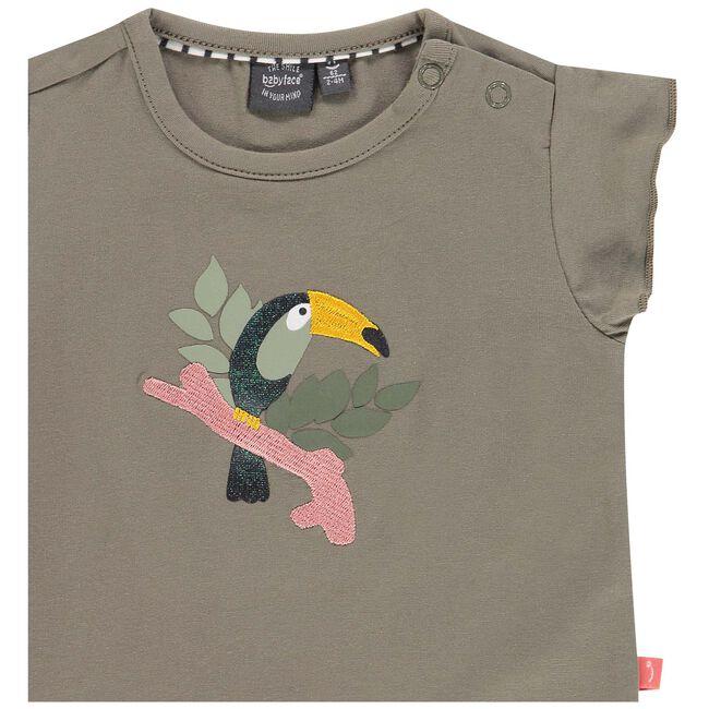 Babyface meisjes T-shirt - Khakigreen