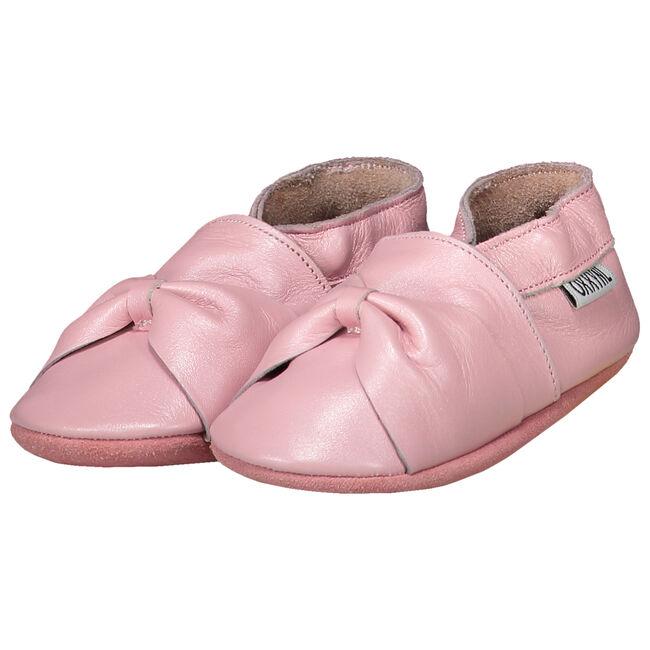 Oxxy baby meisjes lederen slofjes - Light Pink