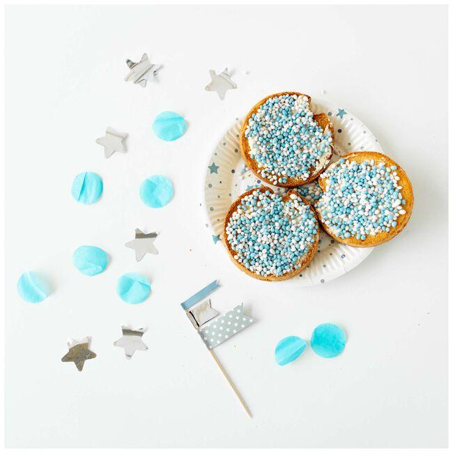 Prénatal partyprikker blauw - Blue