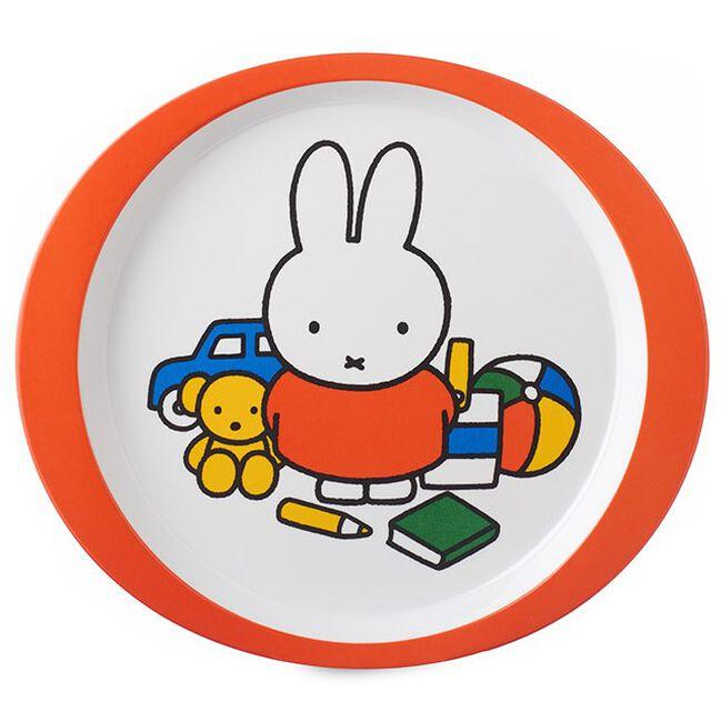 Mepal Nijntje speelt plat bord - Orange