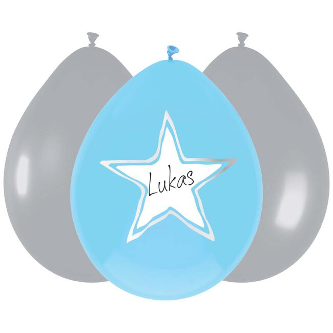 Haza ballonnen it is a boy - Blue