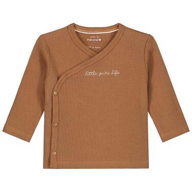 Prénatal newborn unisex shirt rib Pure -