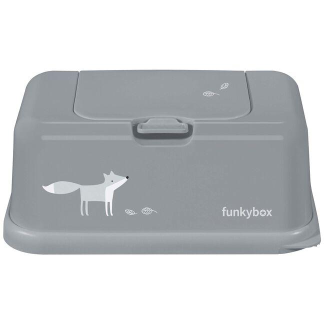 Funkybox doekjesdoos voor billendoekjes - Grey