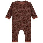 Prénatal baby jongens ééndelig pak - Red Brown