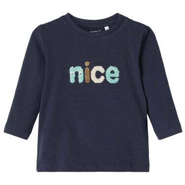 Name it T-shirt - Dark Navy Blue