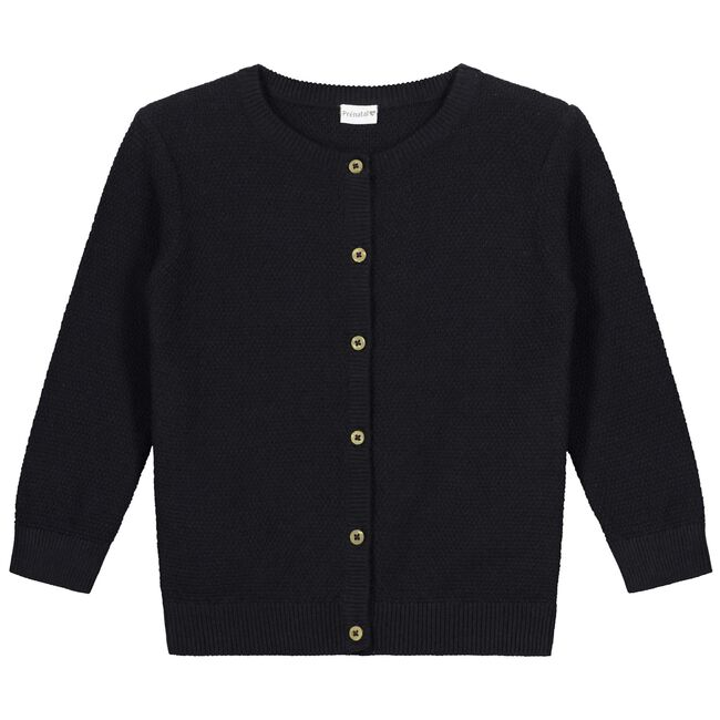 Prénatal baby meisjes vest - Black