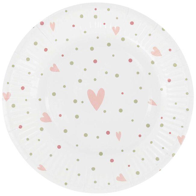 Prénatal bordjes roze - White