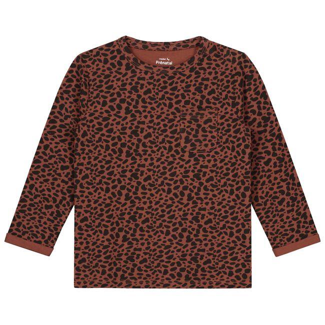 Prénatal baby jongens t-shirt - Red Brown