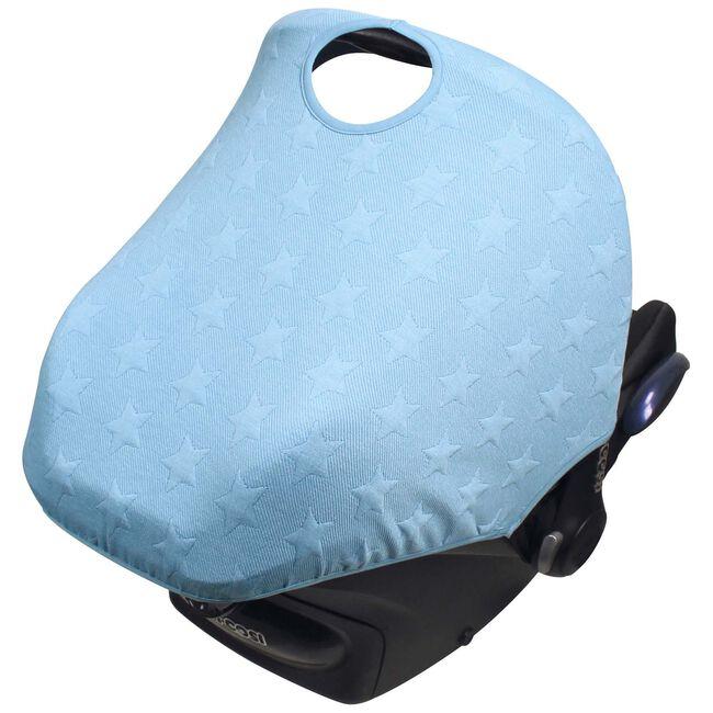 Dooky hoody zonnekap by Prenatal - Knitted Blue Star