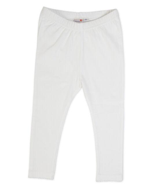 Prénatal meisjes legging - White