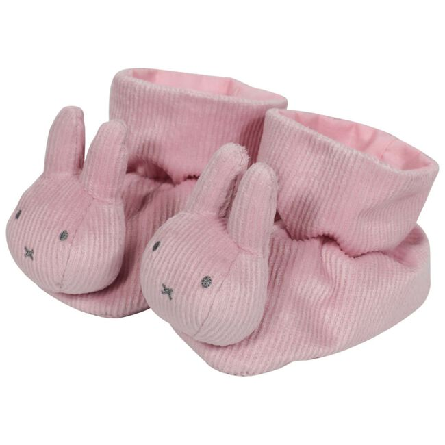 Nijntje box pantoffels rib roze - Pink