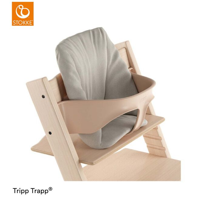 Tripp Trapp® Baby Cushion Timeless Grey - Lightgrey