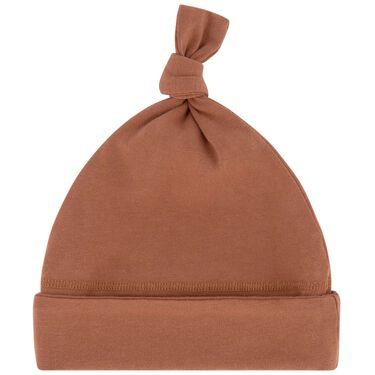 Prénatal newborn mutsje - Orange Brown