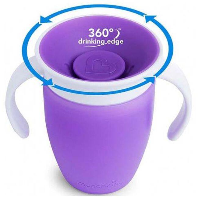 Munchkin drinkbeker miracle 360 roze 207ml 6+ maanden - Purple