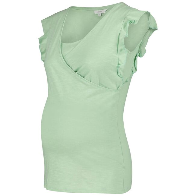 Noppies zwangerschaps T-shirt - Light Blueshade