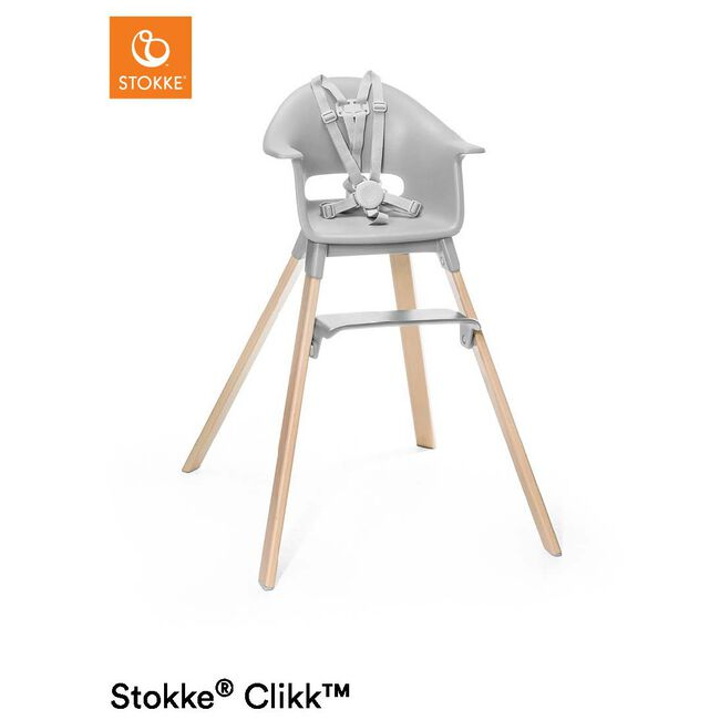 Stokke Clikk High Chair - Stonegrey