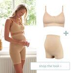 shop the look - voedingsbh & short -