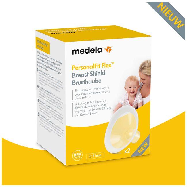Medela Swing Personal Fit Flex Borstschild maat S - Yellow