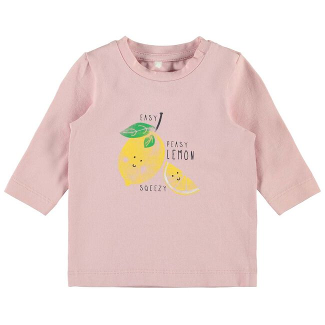 Name it baby meisjes T-shirt - Pink