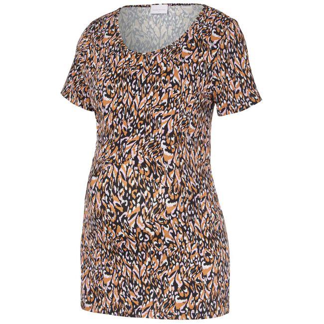 Mamalicious zwangerschaps T-shirt - Orange Shade