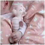 Little Dutch Ocean rammelaar zeepaardje - Pink