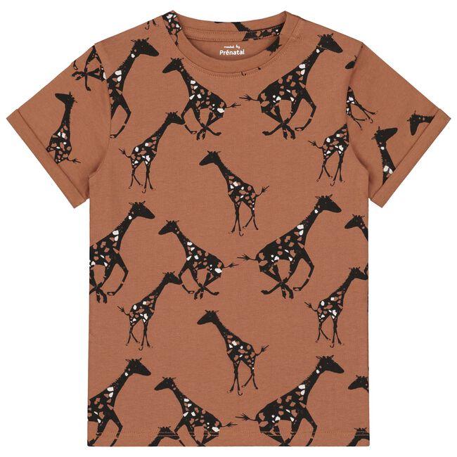 Prénatal peuter jongens t-shirt - Chocolatbrown