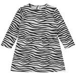 Prénatal peuter meisjes jurk - Mid Grey Melange