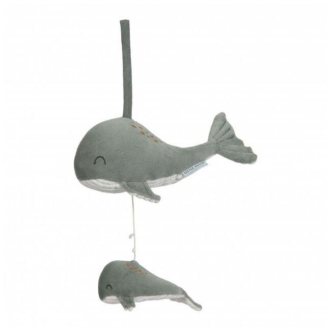 Little Dutch muziekdoosje walvis Ocean - Mintgreen