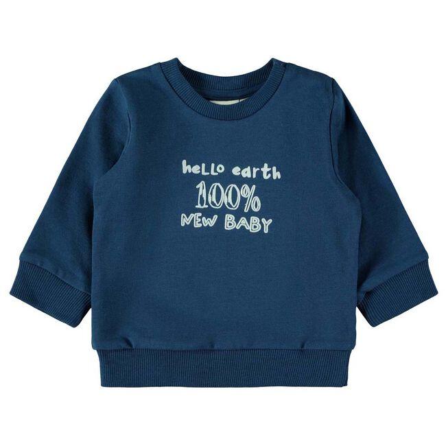Name it jongens sweater - Dark Blue