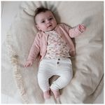 Prénatal newborn meisjes vestje - Powder Pink