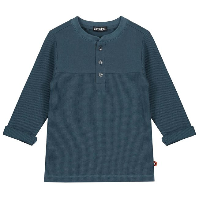 Sweet Petit baby jongens sweater - Night Blue