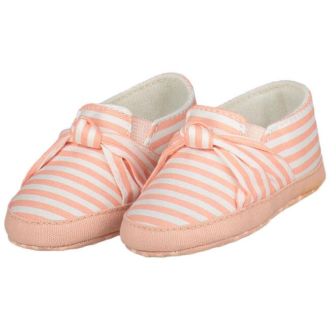 Prenatal meisjes softsole schoenen - Peach Pink