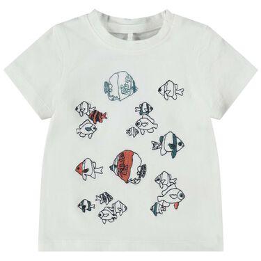 Name it baby T-shirt - Sneeuwwit
