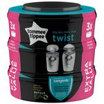Tommee Tippee Sangenic Twist&Click navulverpakking 3-pack - Multi