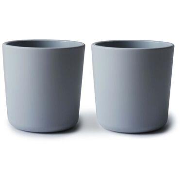 Mushie drinkbeker 2 stuks - Blue Grey